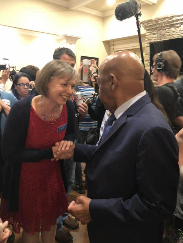 John Lewis and Sally Harrell